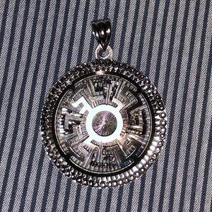 Jewelry - Greek key meander pendant